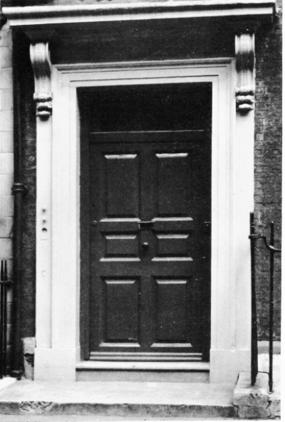 5 Frith Street (1731) 1964 - portico.jpg