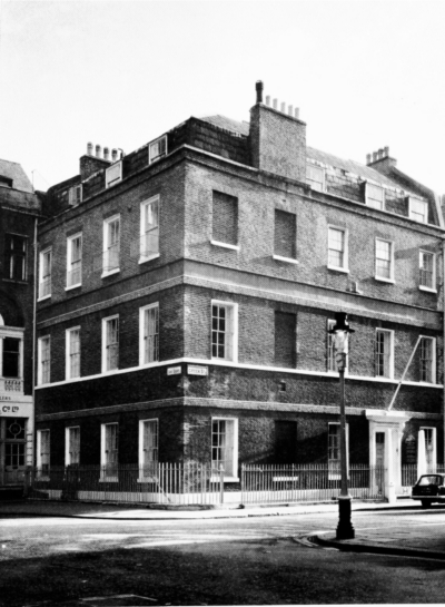 1 Greek Street, the House of St. Barnabas-in-Soho a.jpg. Click on the picture to enlarge