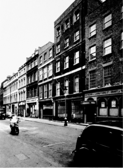 11-18 Greek Street 1958.jpg. Click on the picture to enlarge