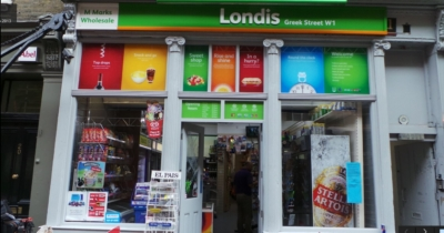21 Greek Street 2015 - M Marks Londis.jpg. Click on the picture to enlarge