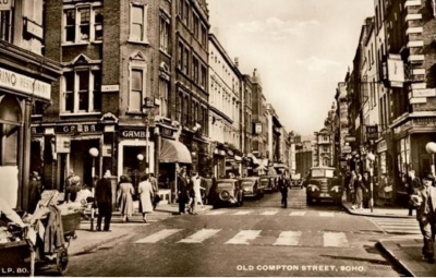 50 Old Compton Street and Dean Street 1950.jpg