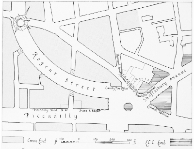 Piccadilly Circus 1886 - Plan showing the ownership of land after the rebuilding of the Regent Street Quadrant.jpg