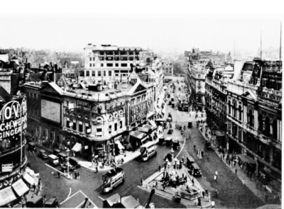 Piccadilly Circus 1928 - View looking East.jpg